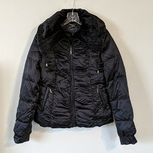 1 Madison Luxe Outerwear Down Feather Jacket